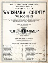 Title Page, Waushara County 1914